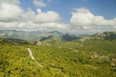 montenegro Lago de Skadar É um dos lagos os mais bonitos em Europa imagem de stock