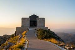 Montenegro Lovcen Fotografering för Bildbyråer