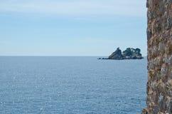 Montenegro marine view. Petrovac. Montenegro marine species. Beaches and landscape Petrovac Royalty Free Stock Image
