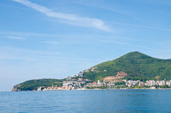 Montenegro marine view. Montenegro marine species. Beaches and landscape Stock Photo