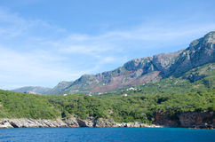 Montenegro marine view Royalty Free Stock Photo