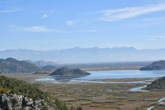 Montenegro Meer Skadar Monte Negro Royalty-vrije Stock Afbeeldingen