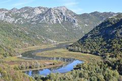 Montenegro Meer Skadar Monte Negro Stock Fotografie