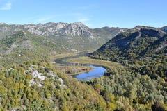 Montenegro Meer Skadar Monte Negro Royalty-vrije Stock Foto's