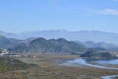 Montenegro Meer Skadar Monte Negro Royalty-vrije Stock Afbeelding