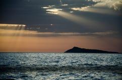 Montenegro moln arkivfoto