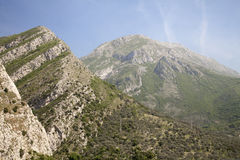 Montenegro mountains in summer Stock Images