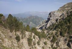 Montenegro mountains in summer Stock Image