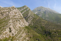 Montenegro mountains Royalty Free Stock Photo