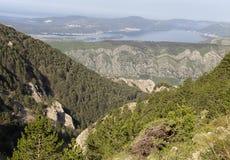 Montenegro mountains Stock Photography
