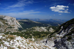 Montenegro. National park Durmitor. Summer. Travel in Montenegro. National park Durmitor Royalty Free Stock Photography