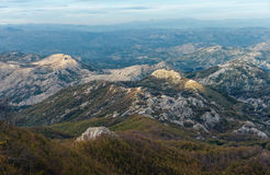 Montenegro, National Park Lovcen. Royalty Free Stock Photo