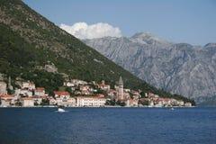 Montenegro, novi do herceg Fotos de Stock Royalty Free