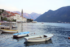 Montenegro - old medieval Mediterranean town Royalty Free Stock Photo