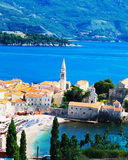 Montenegro. Old town of Budva in Montenegro Royalty Free Stock Photography