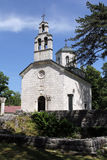 Montenegro. Oude orthodoxe kerk in Cetinje Royalty-vrije Stock Fotografie