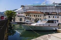 Montenegro - pärlan av den Adriatiska havet kusten Royaltyfri Fotografi
