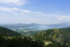 Montenegro - pärlan av den Adriatiska havet kusten Royaltyfri Bild