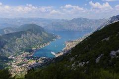 Montenegro - pärlan av den Adriatiska havet kusten Royaltyfria Bilder