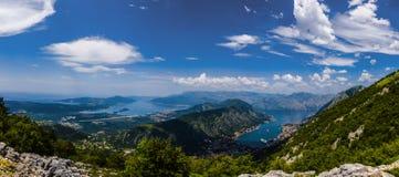 Montenegro - pärlan av den Adriatiska havet kusten Royaltyfri Foto