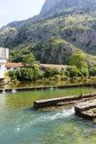 Montenegro - pärlan av den Adriatiska havet kusten Arkivbilder