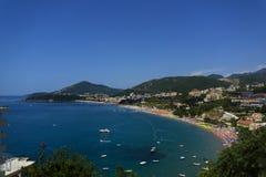 Montenegro - a pérola da costa adriático Foto de Stock