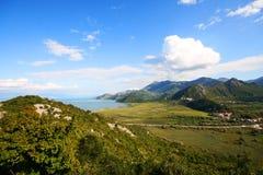 Montenegro Panorama Royalty Free Stock Photography