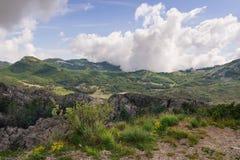 montenegro Parque nacional del en del  de LovÑ Foto de archivo