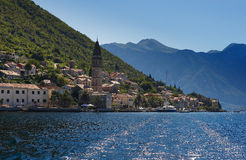 montenegro perast zdjęcie stock