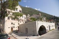 Montenegro. Perast Imagen de archivo libre de regalías