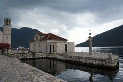 montenegro perast 库存图片