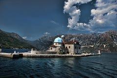 montenegro perast arkivfoto