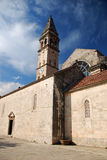 montenegro perast royaltyfri foto
