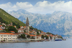 Montenegro. Perast city Royalty Free Stock Photos