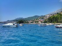 Montenegro Petrovac Royalty-vrije Stock Fotografie