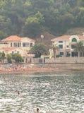 Montenegro, Petrovac, beach royalty free stock photo