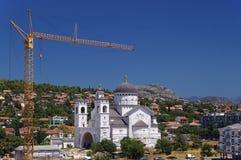 montenegro podgorica Arkivbild