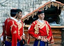Montenegro pojkar Royaltyfri Fotografi