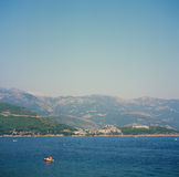Montenegro resort construction Royalty Free Stock Image