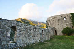 Montenegro ruins of a medieval town. Old Bar Royalty Free Stock Photos