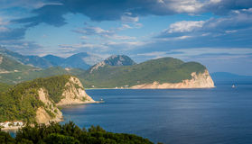 Montenegro sea landscape Royalty Free Stock Photography