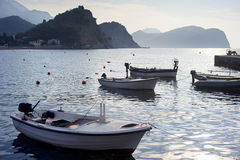Montenegro seashore Stock Photography