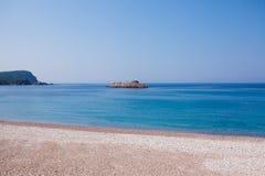Montenegro seashore beach Royalty Free Stock Photo
