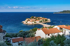 Montenegro, St. Stefan island Stock Images