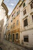 montenegro Stad-museum van Kotor Stock Fotografie