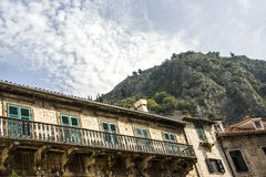 montenegro Stad-museum van Kotor Stock Foto