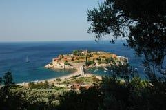 montenegro stefan sveti Royaltyfria Foton