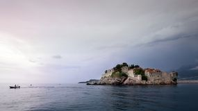 montenegro stefan sveti 库存图片