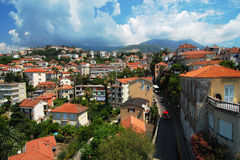 Montenegro. The street in Montenegro in the afternoon Stock Photography
