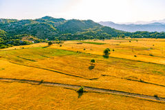 Montenegro summer morning nature - aerial Stock Image